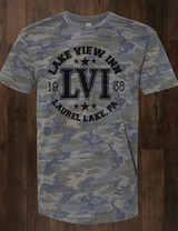 Lake View Inn Camo Tee