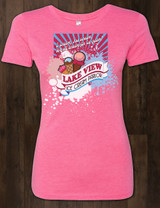 Lake View Ice Cream Ladies Tee