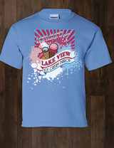 Lake View Ice Cream Kids Tee