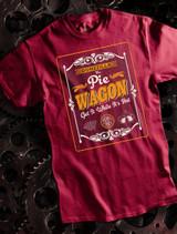 Pie Wagon Banner Mens Tee