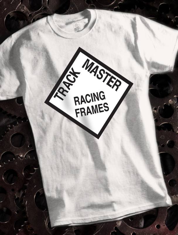 Trackmaster Mens T-shirt on White