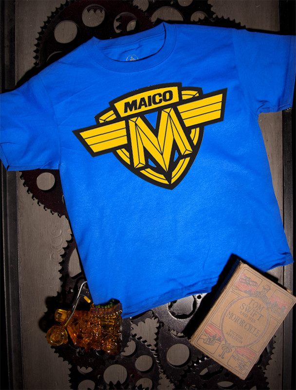 Marco Kids Tee on Blue