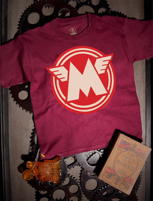 Matchless Kids Tee on Maroon
