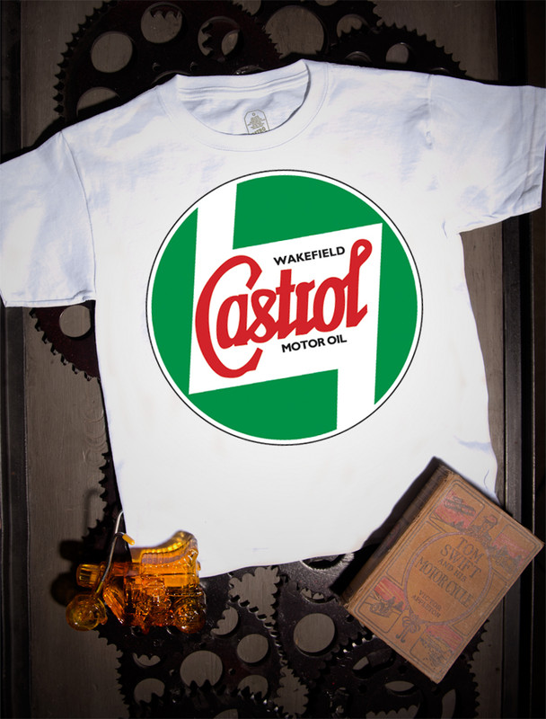 Castrol Kids Tee on white