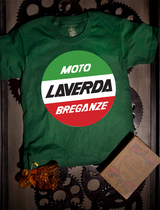 Laverda Kids Tee on Green