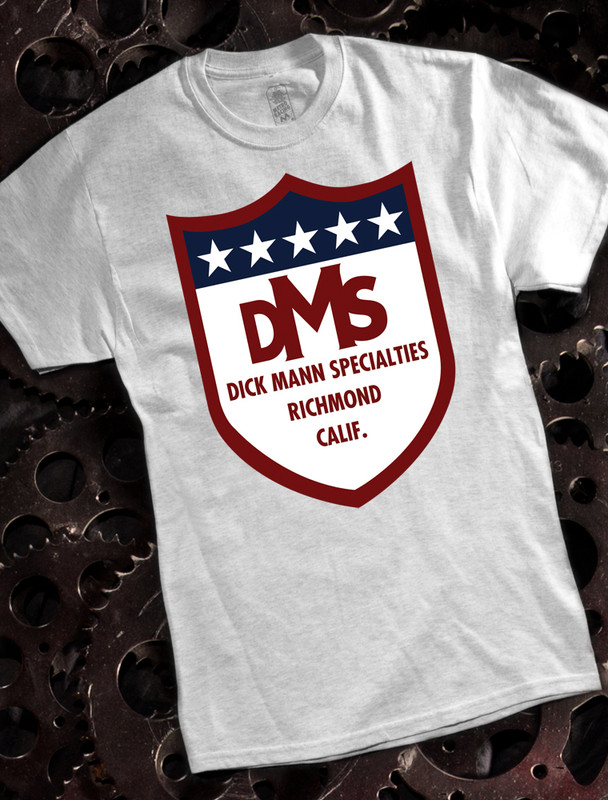 Dick Mann Mens T-shirt on Ash