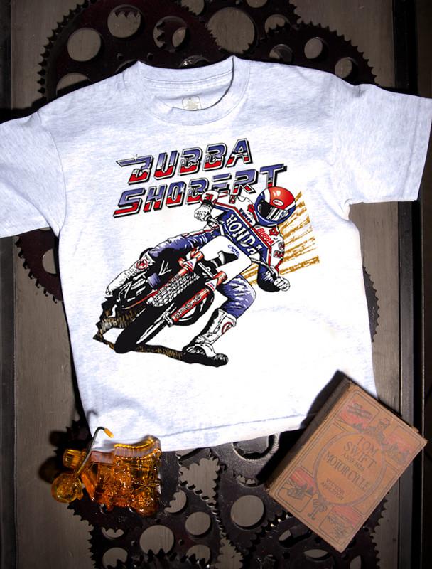 Bubba Shobert Kids T-shirt on White