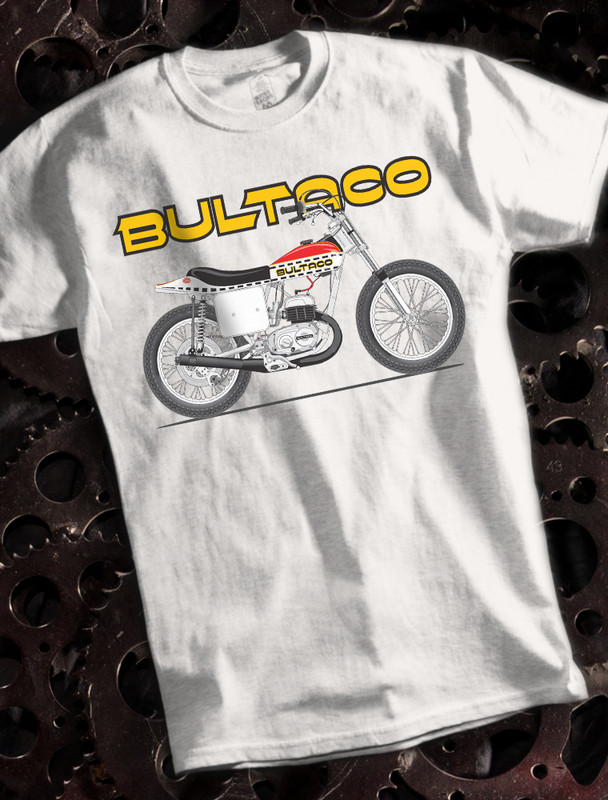 Bultaco Astro Bike Mens T-shirt on White