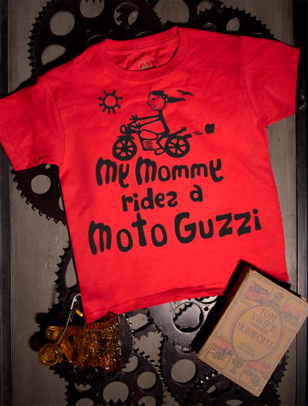 Mommy's Moto Guzzi