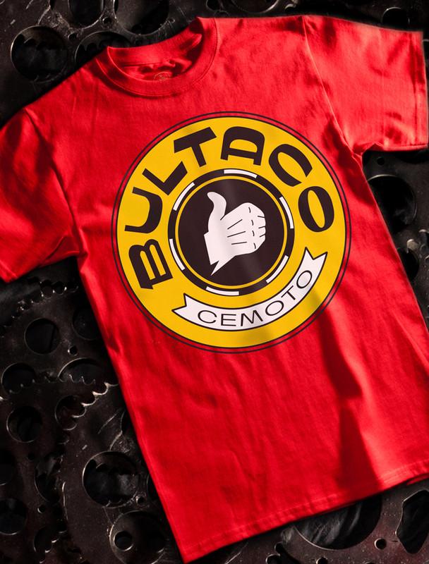 Red Bultaco T-shirt