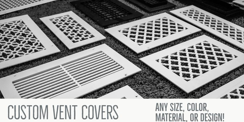 Custom Vent Covers - Vent Covers Unlimited