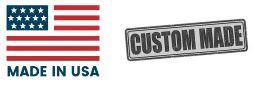 Made Custom in the USA