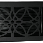 Madelyn Carter Empire Floor and Wall Registers - Black