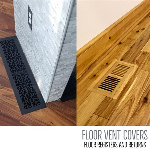 Floor Vent Covers - Vent Covers Unlimited