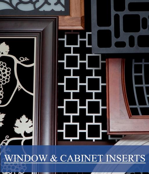 Cabinet Inserts & Window Inserts