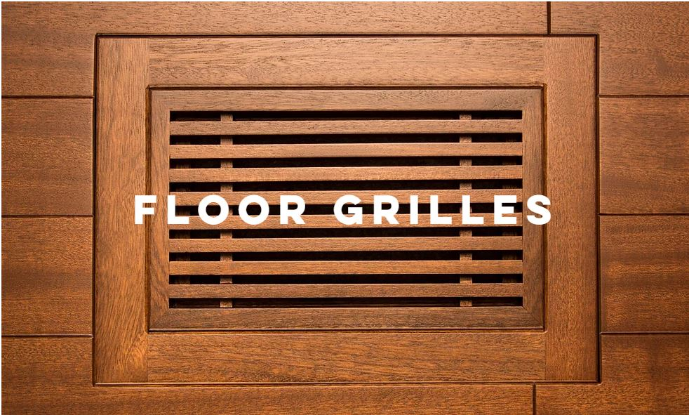 Floor Grilles - Architectural Wood