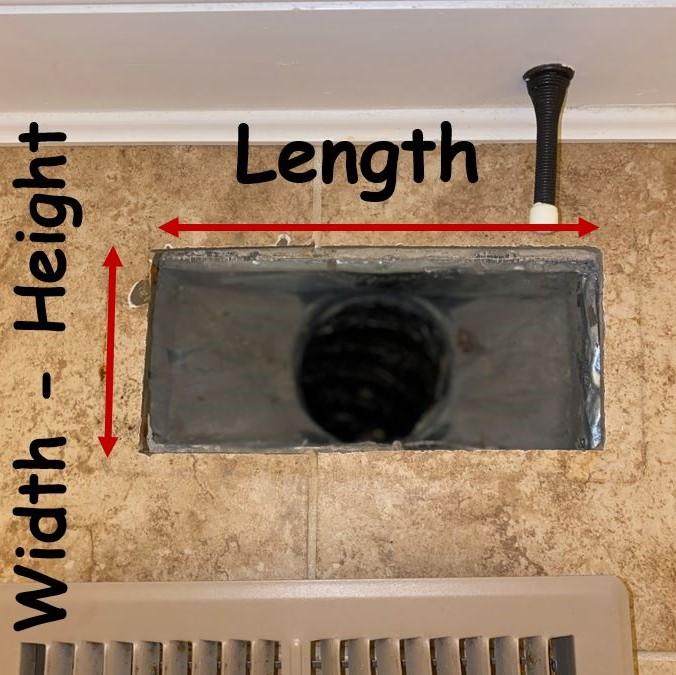 Width X Length
