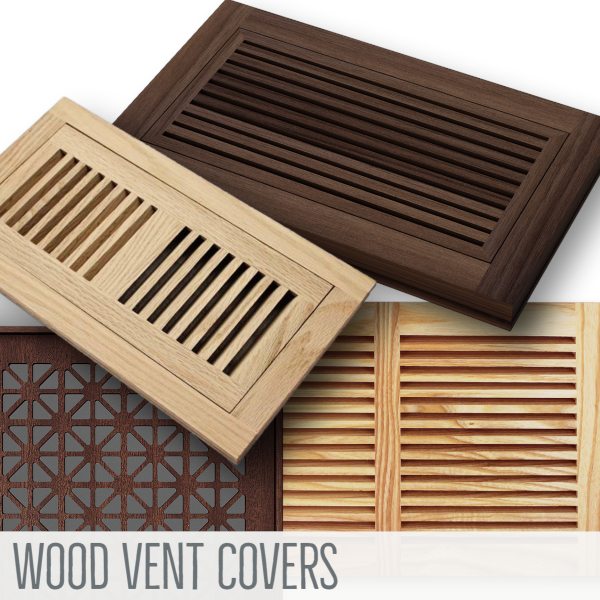 Wood Covers - Vent Covers Unlimited
