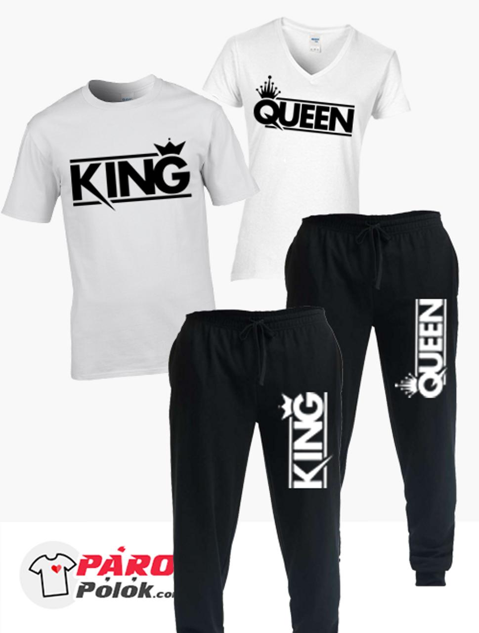 Modern King and Queen nadrág + póló csomag - Párospólók.com 435ede8726