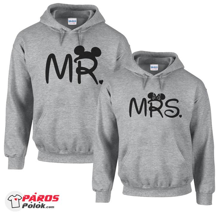 Mr és Mrs világosszürke pulóver csomag