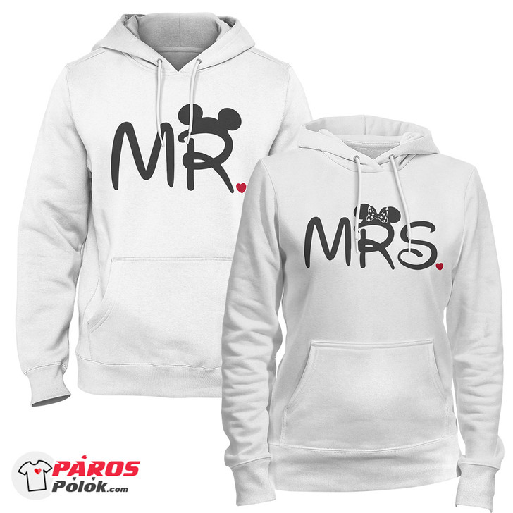 Mr. és Mrs.fehér pulóver csomag