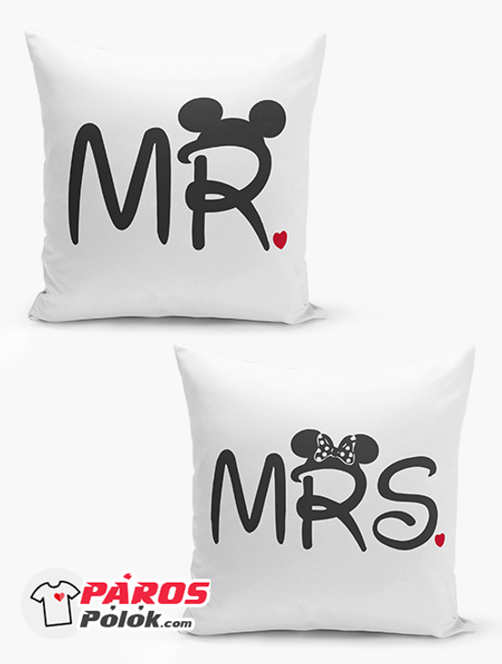 Mr és Mrs párna csomag