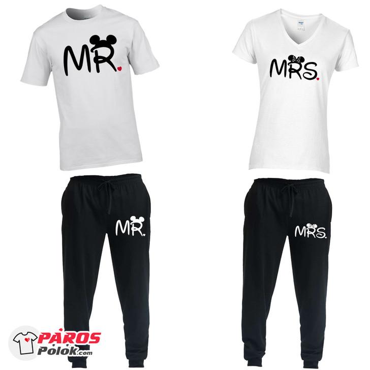 Mr. és Mrs. nadrág + póló csomag