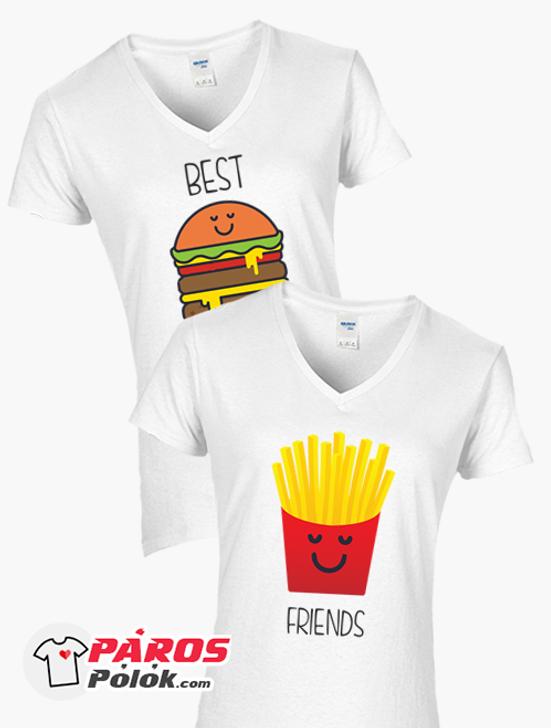 Hamburger és Sült krumpli csomag