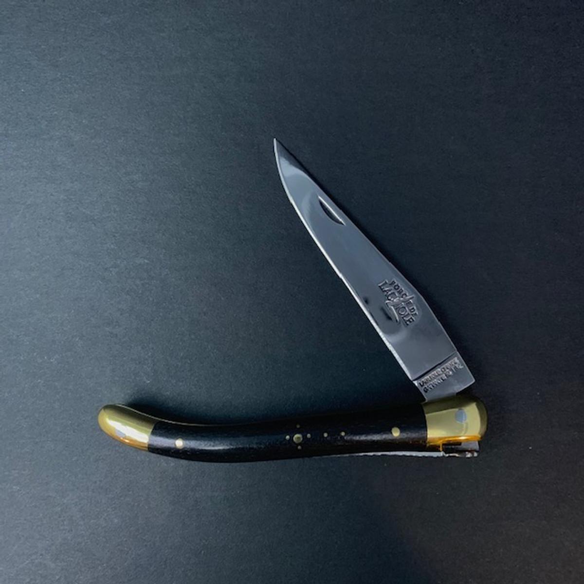 Forge de Laguiole | 9cm Ebony | Brass
