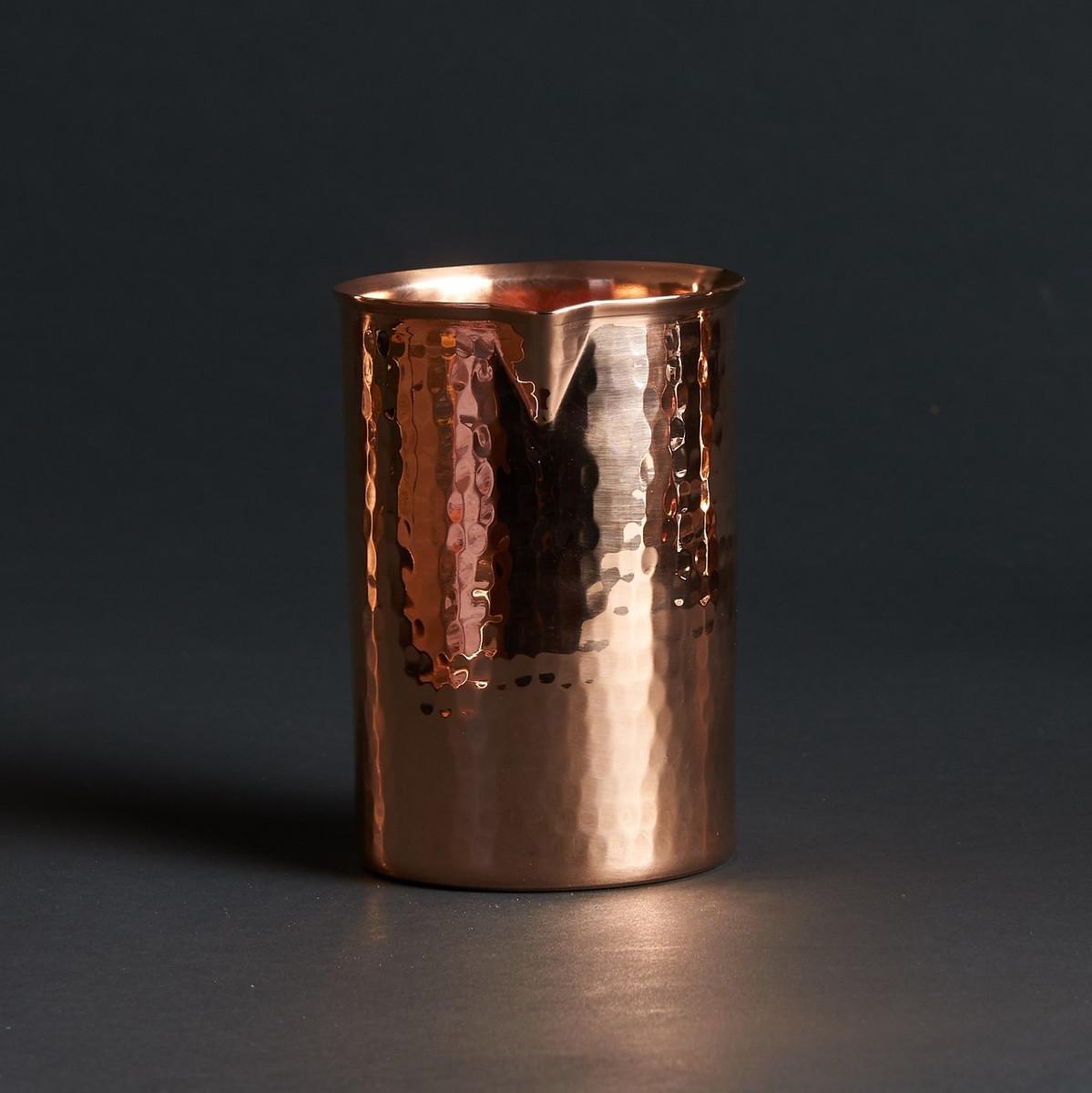 Sertodo | Copper Mixer | Flat Base
