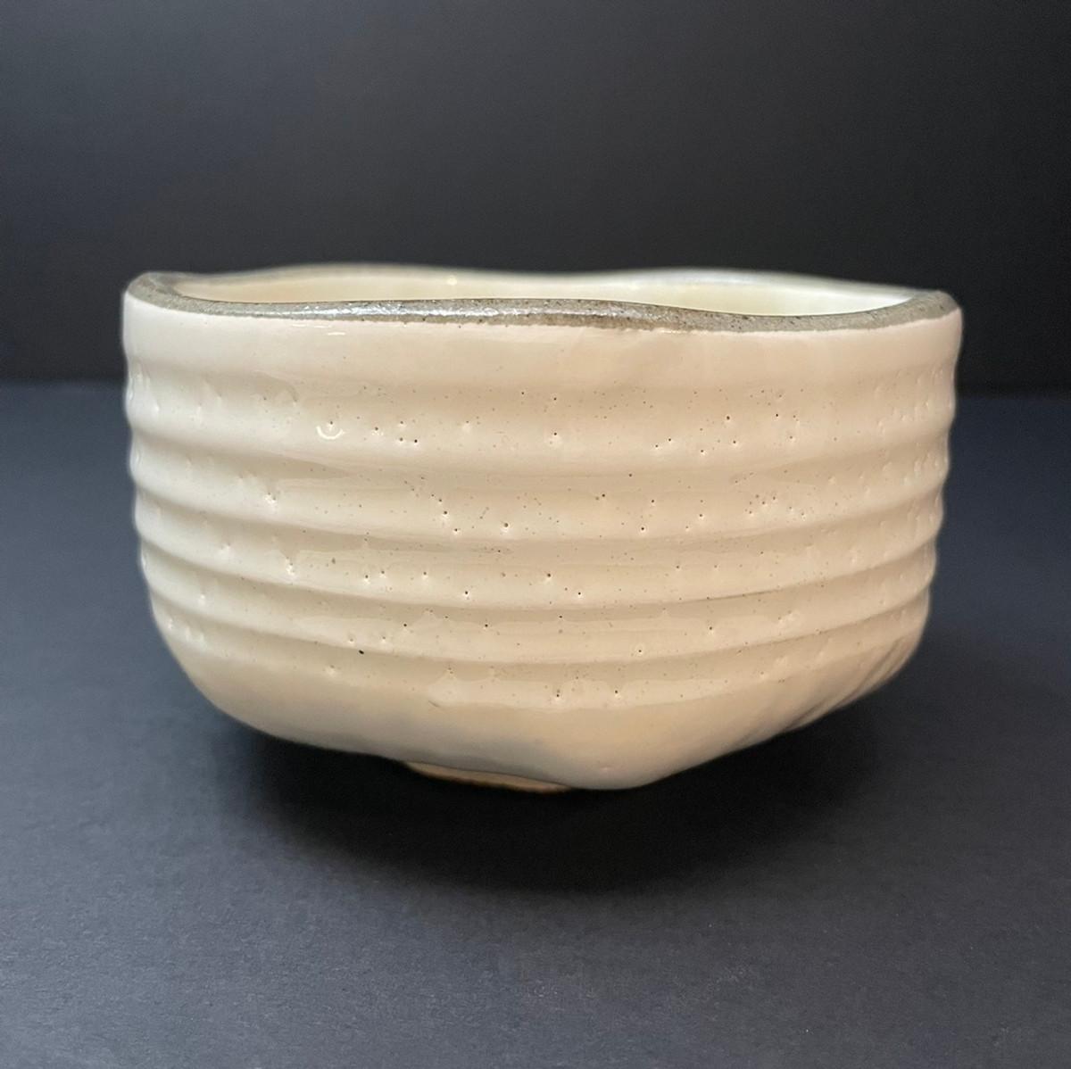 Matcha Tea Bowl | Pure White