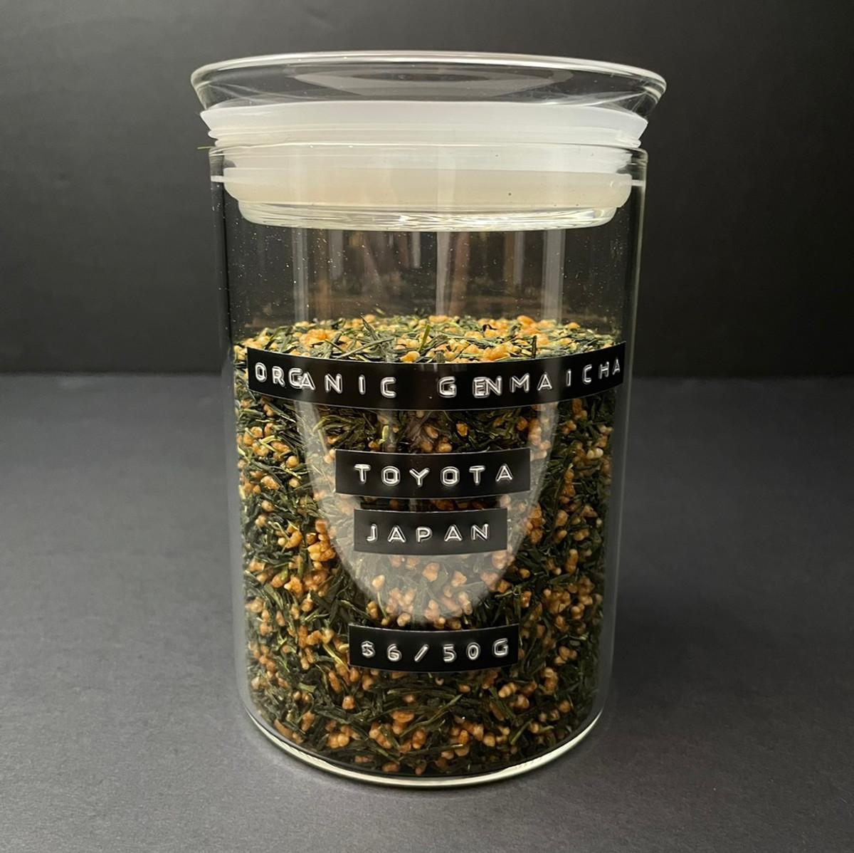 Loose Leaf Tea   Genmaicha   Organic Green   50g