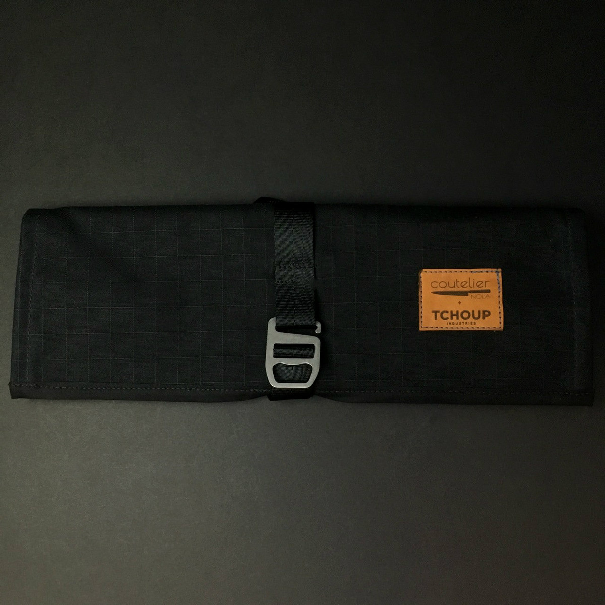 Tchoup Bags | Tool Roll | 8 Pocket | Black