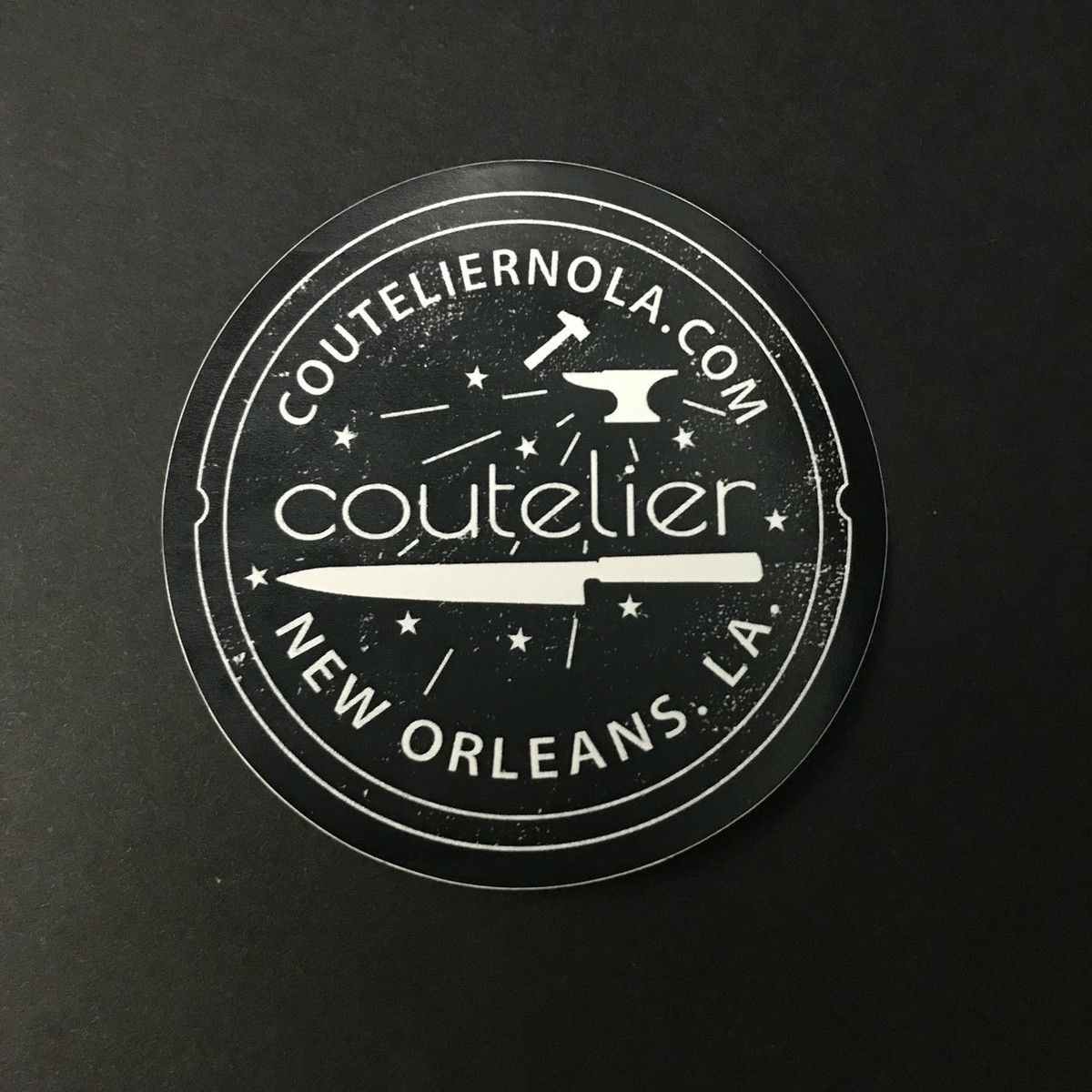 Coutelier Sticker - Watermeter