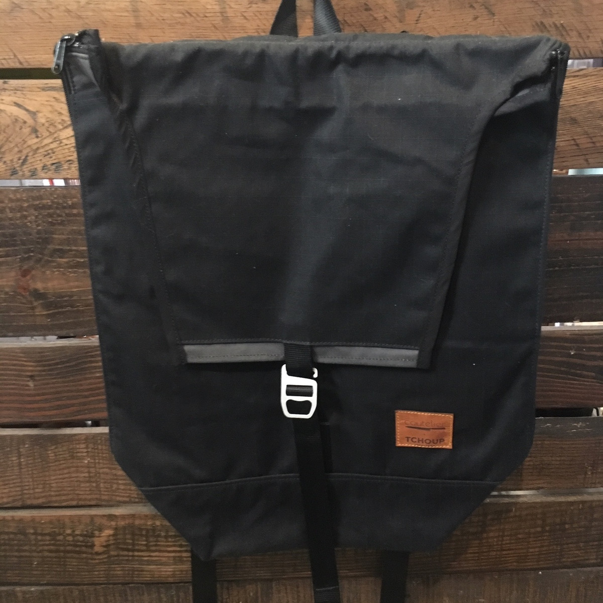 Tchoup Bags - Backpack - Black