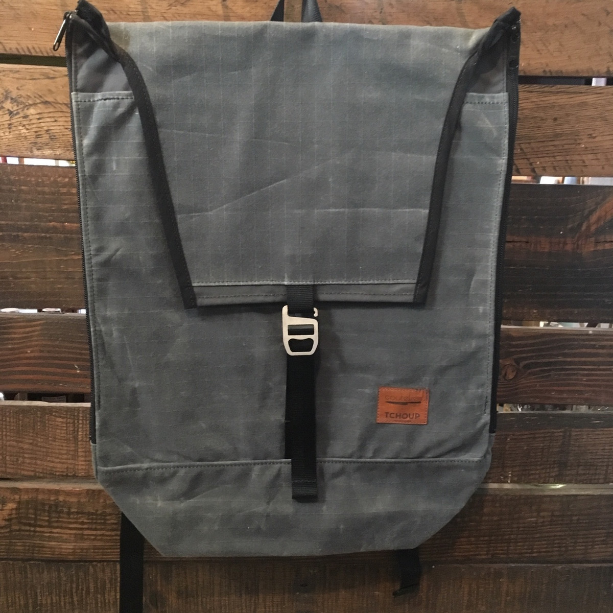 Tchoup Bags | Knife Backpack | Slate