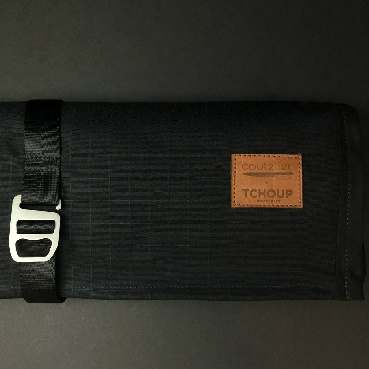 Tchoup Bags - Knife Roll - 9 Pocket - Black