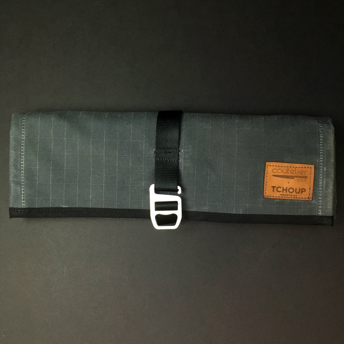 Tchoup Bags - Tool Roll - 8 Pocket - Slate