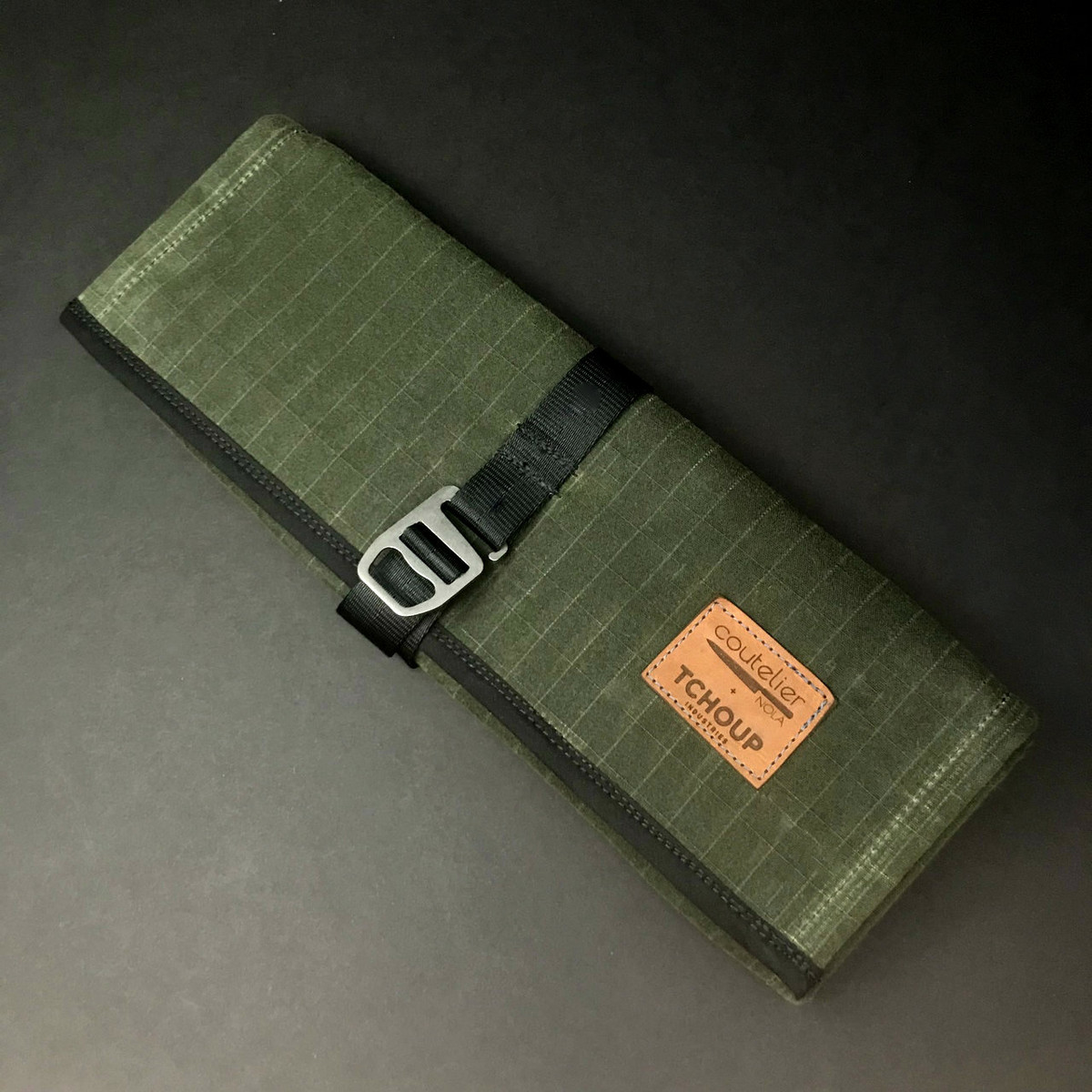 Tchoup Bags | Tool Roll | 8 Pocket | Green