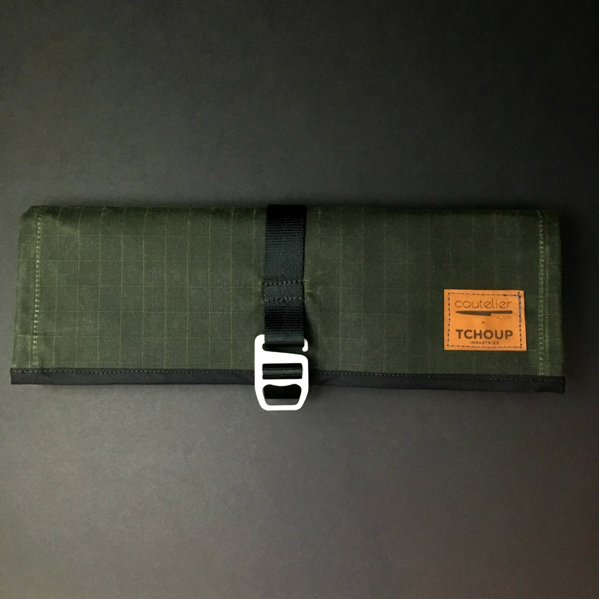 Tchoup Bags - Tool Roll - 8 Pocket - Green