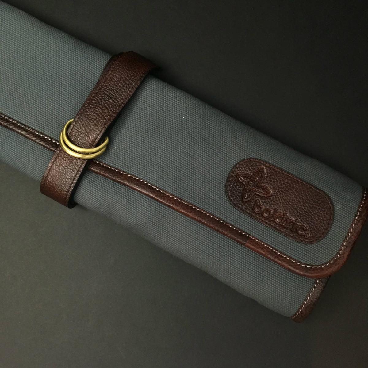 Boldric | 7 pocket knife roll | Abalone