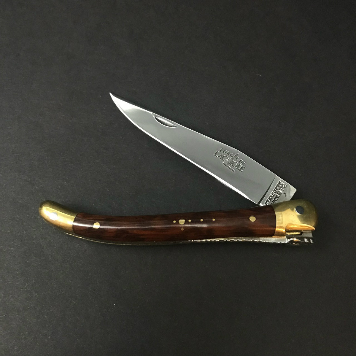 Forge de Laguiole   9cm Snakewood   Brass