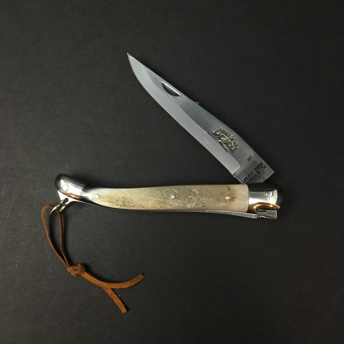 Forge De Laguiole - 11cm - Aubrac Brut De Forge - Cow Horn