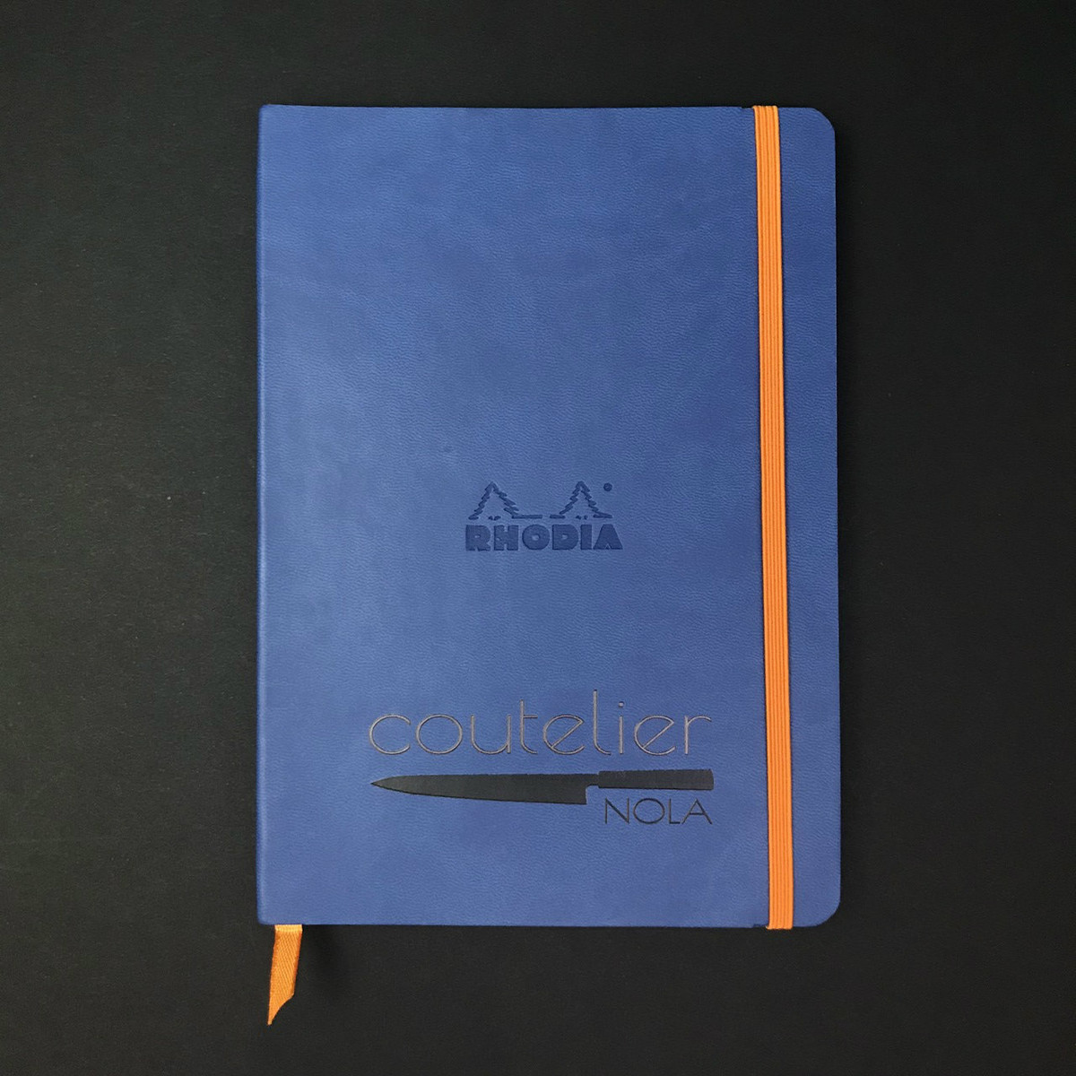Rhodia Notebook - Large - Sapphire