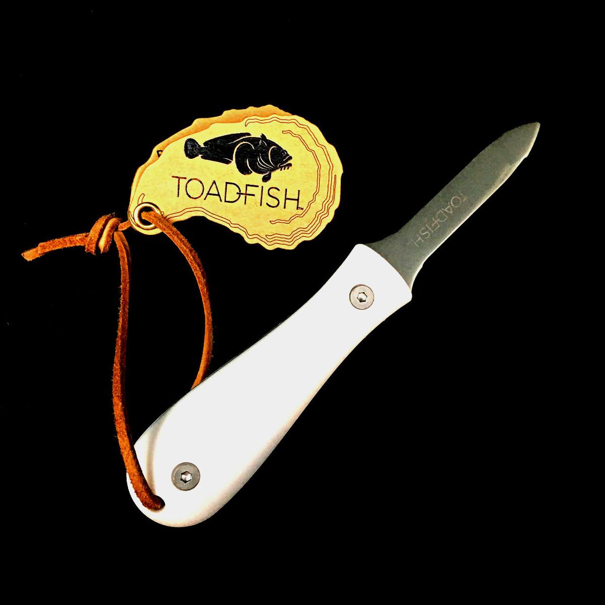 Toadfish   Oyster Shucker   White