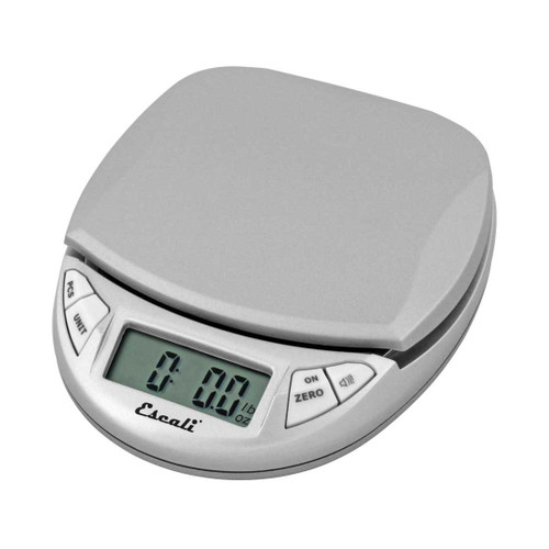 Escali | Mini Digital Scale | Pico | Silver/Gray