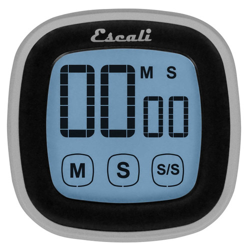 Escali | Timer | Touch Screen Digital | Black