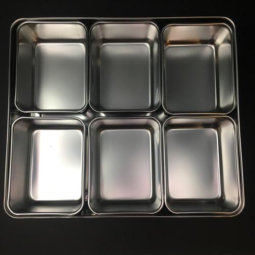 Yakumi Pans | Stainless | 6 Compartment