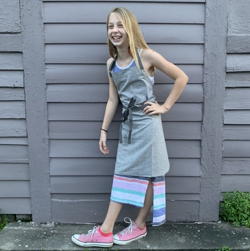 Tilit | Kid's Apron | Heather Grey