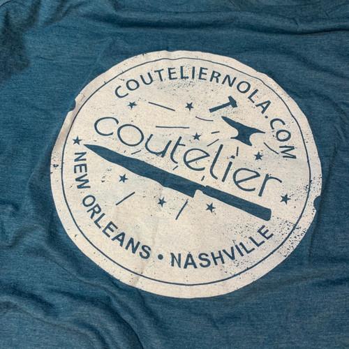 Coutelier | T-Shirt | NOLA/NASH Blue